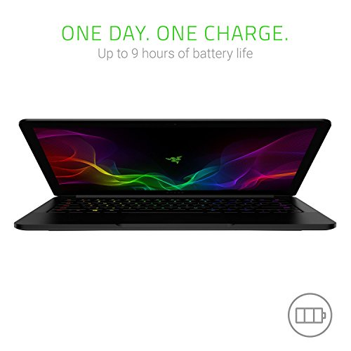 Razer Blade Stealth 13.3in QHD+ Touchscreen Ultrabook (8th Generation Intel Quad Core i7-8550U, 16GB RAM, 512GB SSD) (RZ09-02393E32-R3U1) (Renewed)