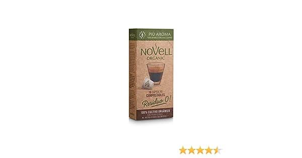 Cápsulas Compostables con café Ecológico - Più Aroma - 10u: Amazon ...