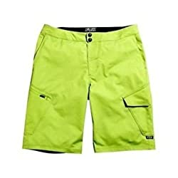 Fox Head Men's Ranger 12-inch Cargo Shorts, Acid Green, 30