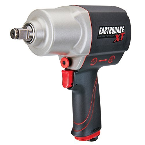 1/2 Composite Impact Wrench - Earthquake XT 1/2 in. Composite Xtreme Torque Air Impact Wrench 1000 ft. lbs