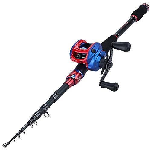 Sougayilang Fishing Rod and Reel Combo
