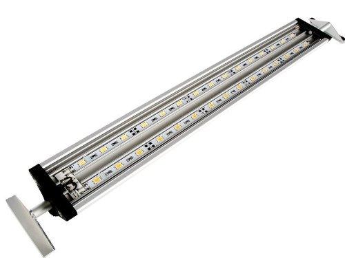 LED Aquarium Beleuchtung | Daytime ECO50 48cm|15 Watt mit Universal-Apapter für Becken 50-65cm