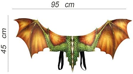 iSunday 3D Dragón ala Halloween Mardi Gras Accesorio de Disfraz ...