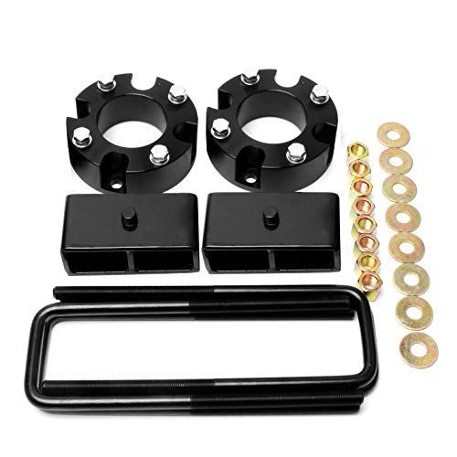 ZY Wheel 3'' Front and 2'' Rear Leveling Lift Kit for 2007-2018 Toyota Tundra 2WD 4WD