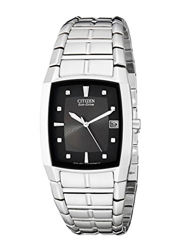 Citizen Men's Eco-Drive Stainless Steel Watch with Date, BM6550-58E from Citizen