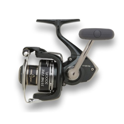 Shimano Symetre Spinning Fishing Reel, 6/200, 8/140, 10/120, Left/Right-Hand, Silver, Outdoor Stuffs