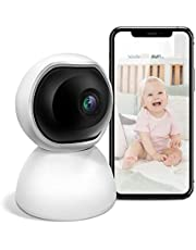 2021 Home Smart Monitors Wireless Camera -- Baby Monitoring -- 2-Way Audio & Motion Tracking & Alarm Area & Monitoring Timeline -- Always Protect Your Family