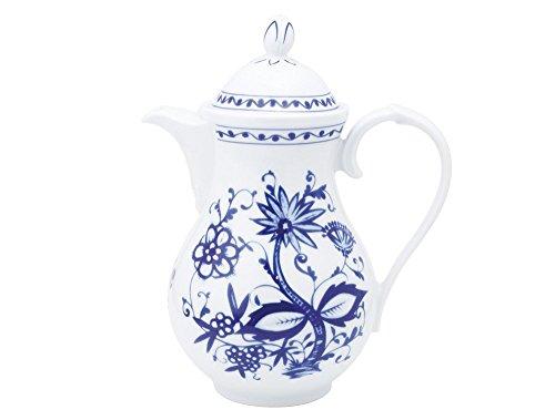 KAHLA Onion Pattern, Coffeepot 44 oz, Rossella Color, 1 Piece