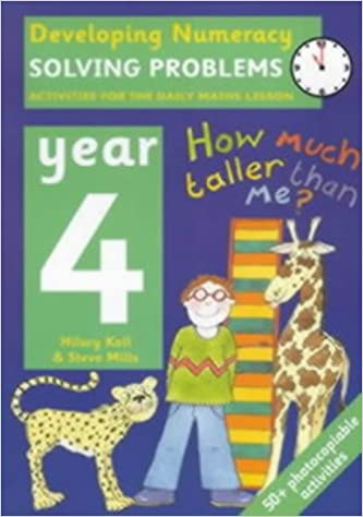 Book Developing Numeracy - Year 4: Solving Problems