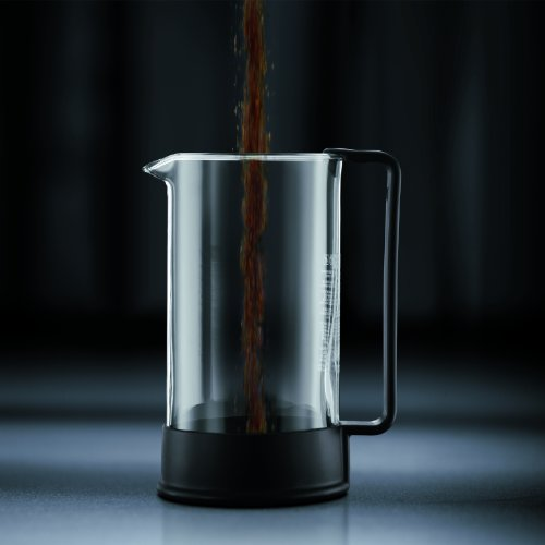 Bodum Brazil French Press Coffee Maker, 34 Ounce, 1 Liter, (8 Cup), Black by Bodum (Image #2)