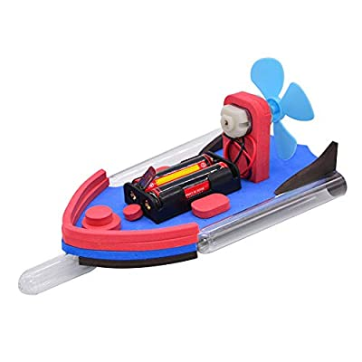 Jiecikou DIY Wooden Boat Toys Kits to Build – Science Experiment Projects for Kids and Teens - Educational Toys for Boys and Girls Bath Toy, Pool Toy: Arts, Crafts & Sewing