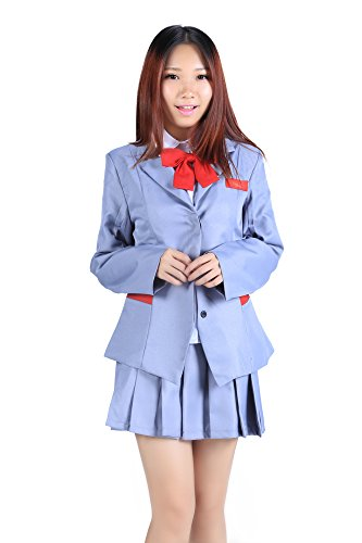 SDWKIT Bleach Cosplay Costume V1 Karakura High School Female Winter Uniform