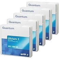 Quantum LTO Ultrium 3 - 400 GB / 800 GB - Blau - Speichermedium/ Data Cartridge, MR-L3MQN-01 (5er Pack)
