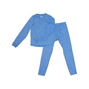 Trimfit Boys Space Dye Long-Sleeve w/Thumbholes Thermal Long Underwear Set