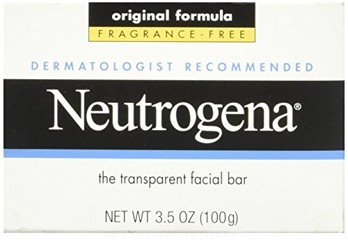 Free Original Formula - Neutrogena The Transparent Facial Bar Original Formula, Fragrance Free 3.50 oz (Pack of 2)