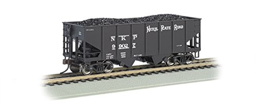 Bachmann Industries 55-Ton 2-Bay Sure Outside Braced Hopper - Nickel Plate Road (HO Scale) Ton Coal Hopper