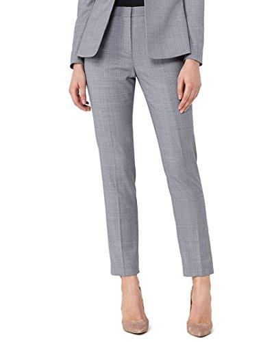 Reiss Womens Nicola Wool-Blend Trouser, 6, (Tab Front Wool Trousers)