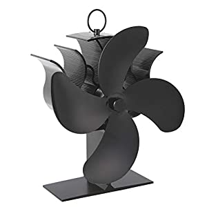 Camino A Legna Stufa O Stufa A Pellet Efficace Dispersione Aria Calda Intorno al Vostro Fornello Elettrico Camera Fan… 9 spesavip