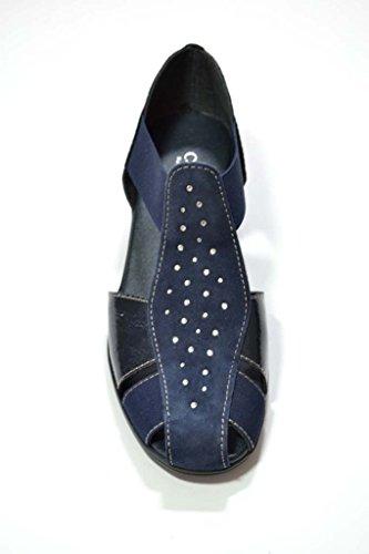 Bleu Pour Femme Sandales Soft Cinzia pOqn1Tw7O