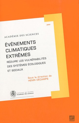 Extreme Edp - Evenements climatiques extremes (French Edition)