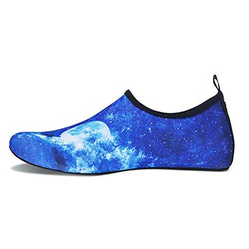 Water Pour Femmes Chaussettes Bain Shoes Rapide Et Schage Hmiya Barefoot Chaussure Ciel De Yoga Aqua Bleu Beach Hommes 1pOxqZqf