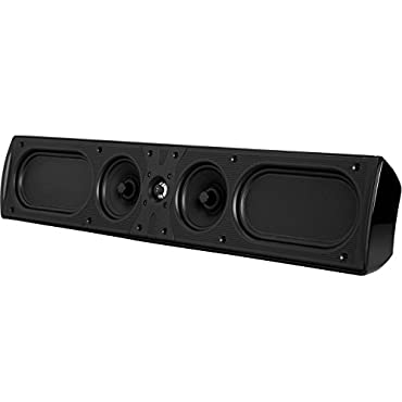 Definitive Technology Mythos 9 Speaker, Single Speaker Black (Certified Refurbished)