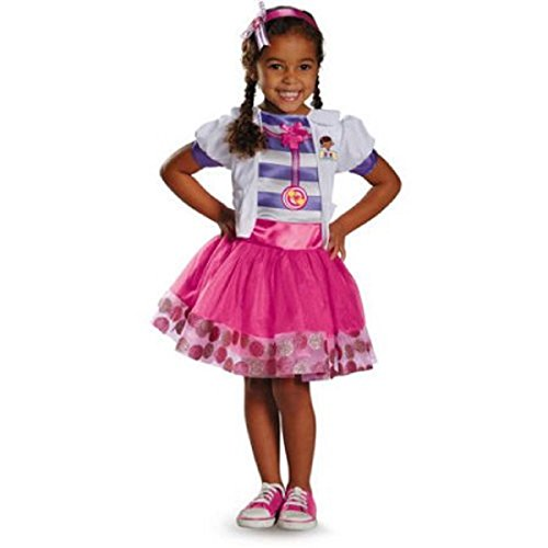 Doc McStuffins Toddler Costume (3T-4T) - Toddler Doc Mcstuffins Costumes