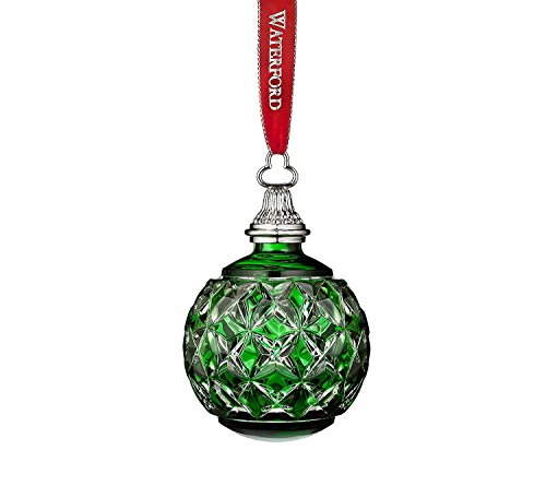 Waterford The Green Cased Ball Ornament (Ornament Ball Cased)