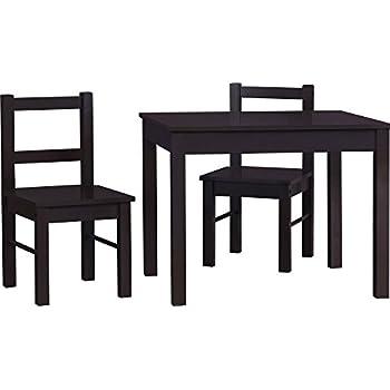 Amazon.com: Delta Children Windsor Table & 2 Chair Set, Grey: Baby