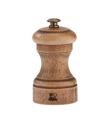 Peugeot Antique Bistro Beech Wood 4 Inch Pepper Mill