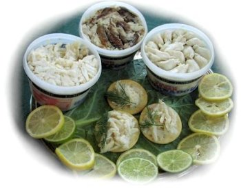 Charleston Seafood Lump Crabmeat, 32-Ounce Box