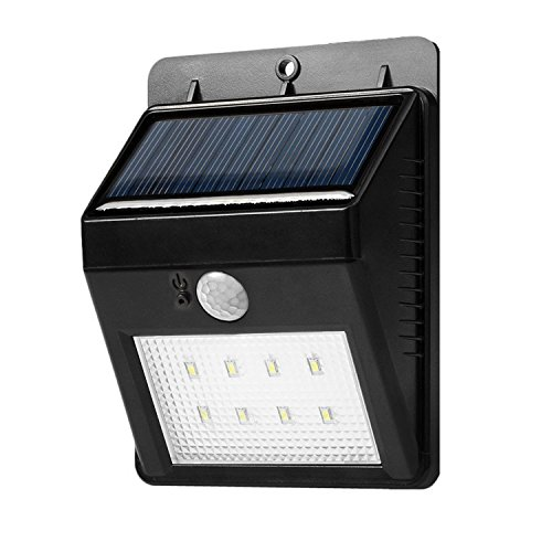 Solar Lights Solar Powerd Wireless Bright 8 Led Security