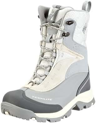 Columbia Sportswear Women's Bugaboot Plus Xtm Wmns Cold Weather Boot,Turtle Dove/ Metallic Silver,5 M US