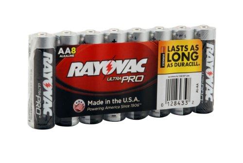 012800000432 - Rayovac Ultra Pro Batteries, Size AA, 8-Pack carousel main 2