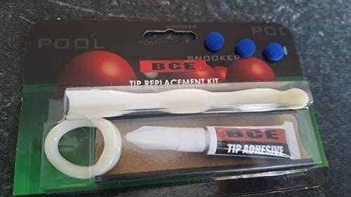 hinffinity Billiards Supplies Billiard//Pool//Snooker Bowtie Cue Tips Stick Cue Care Accessory Billiard Cue Tip Tool Repair Tools