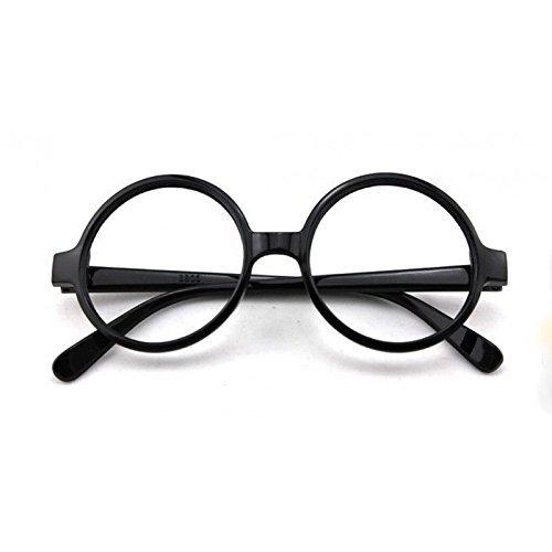 Mytoptrendz Mytoptrendz Unisex Round-Frame Retro Style Nerd Polite Fashion Clear Lens Eye Glasses ( - Glasse Nerd