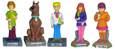 Scooby-Doo Set of 5 Nodders by Funko Wacky Wobblers - Scooby Doo Wacky Wobbler
