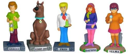 Scooby-Doo Set of 5 Nodders by Funko Wacky Wobblers ()