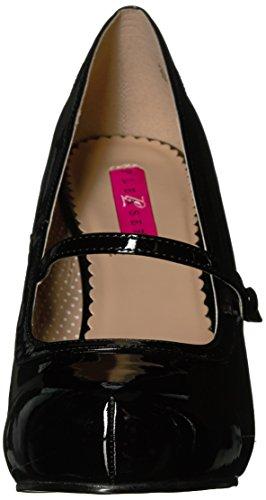 Pleaser Pink Label PINUP-01 Blk Pat UK 10 (EU 43 )