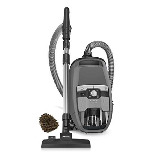 Miele Blizzard Pure Suction CX1 Canister Vacuum, Bagless (Complete Set) w/Bonus: Premium Microfiber Cleaner Bundle