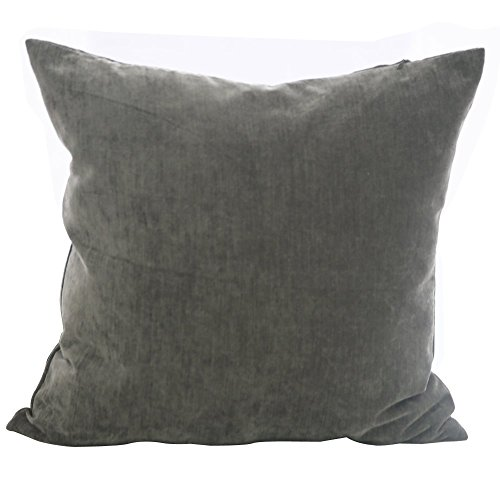 Deconovo Faux Velvet Home Decorative Hand Made Pillow Case C