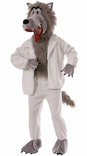 Forum Novelties Men's Wolf In Sheep's Clothing Plush