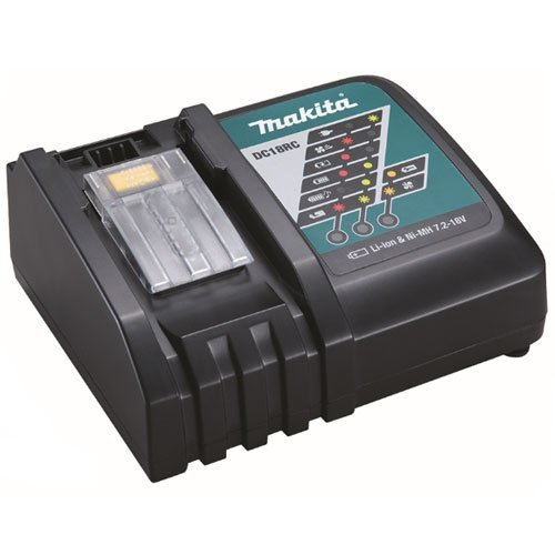 Makita DC18RC 30-minute Optimum 7.2-18V DC output; Rated 220-240V AC Wall Plug Lithium Charger