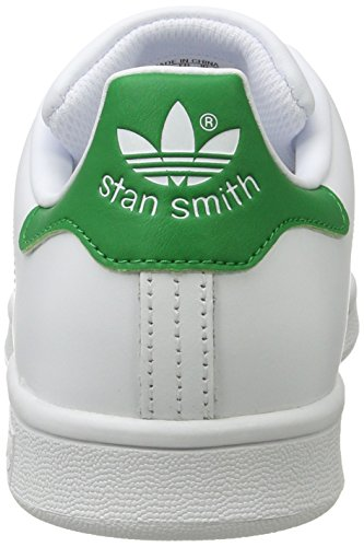 Leather Womens White Stan Smith Adidas Trainers qSdwt1wg
