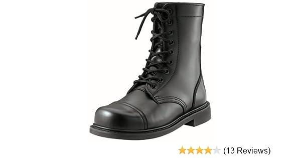 Amazon.com  Army Universe Black GI Style Military Combat Boots 5075 Size  10.5-Regular  Shoes f578e07719d