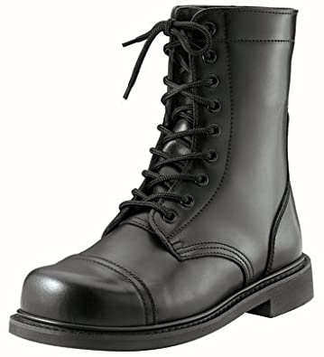 Amazon.com: Black GI Style Military Combat Boots 5075 Size 9.5 ...