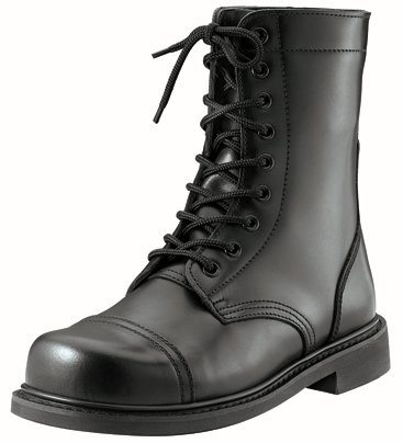 5075 Black GI Style Combat Boot (13 Reg) (Womens Military Boots)