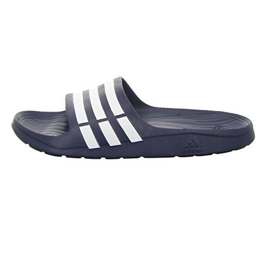 adidas Duramo Slide - Chanclas unisex NEWNAV/WHT/N