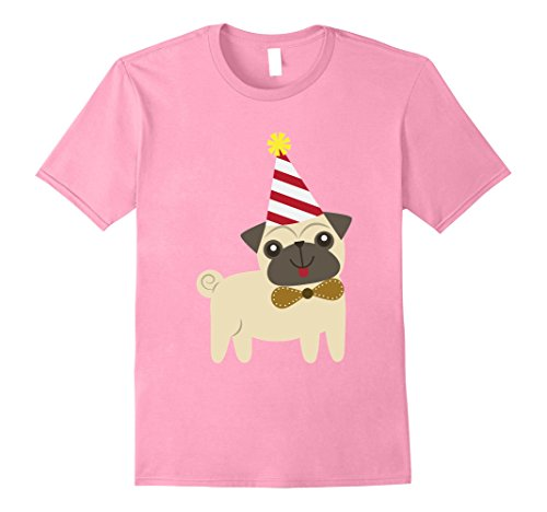 Mens Pug Birthday Shirt