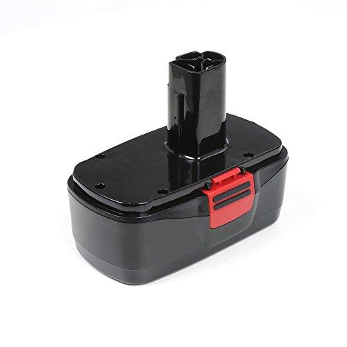 Flylinktech® Craftsman 19.2 Volt Battery Replacement For Craftsman DieHard C3 19.2 volt NiCd Battery 11375 11376 130279005 Craftsman 315.115410 C3 craftsman c3,315.115410